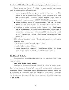 Capitolul 5 - Elemente de Programare - Realizarea Programelor - FoxPro - Pagina 2