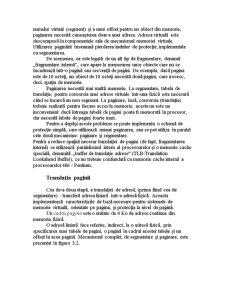 Paginare și Administrarea Memoriei Cache - Pagina 2