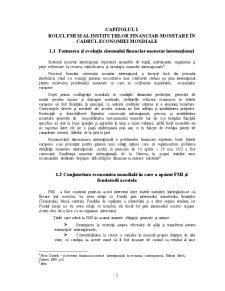 Fondul Monetar Internațional și Relația cu România - Pagina 5