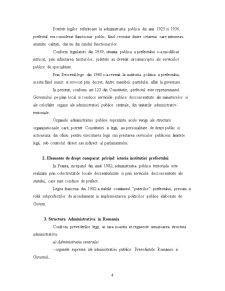 Administratia Publica de Stat - Prefectul si Prefectura - Pagina 4