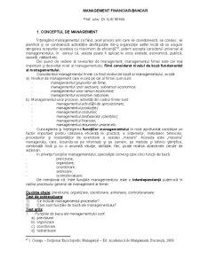 Management Financiar Bancar - Pagina 1