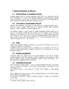 Plan de Afaceri - Ferma de Gaini Ouatoare - Pagina 1