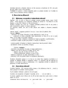 Plan de Afaceri - Ferma de Gaini Ouatoare - Pagina 2