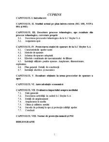 Proiectarea unei Statii de Epurare a Apelor Uzate de la SC Beyler SA Galati - Pagina 2