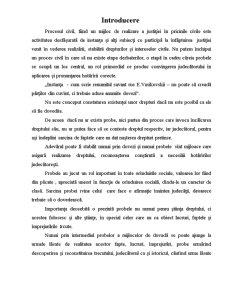 Mijloace de Probă în Procesul Civil - Pagina 2