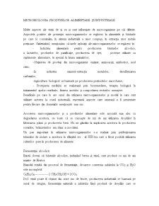 Microbiologia Produselor Alimentare și Industriale - Pagina 1