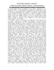 Introducere în Tehnici de Studiu a Comunicarii - Pagina 2