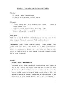 Control si Expertiza Contabila - Pagina 1