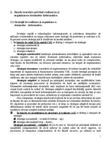 Bazele Teoretice privind Realizarea și Organizarea Sistemelor Informatice - Pagina 1
