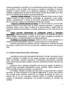 Bazele Teoretice privind Realizarea și Organizarea Sistemelor Informatice - Pagina 4
