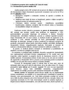 Analiza Sistemului Informațional Existent - Pagina 3