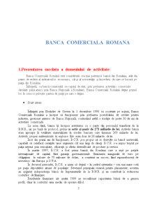 Comunicare Financiar-Bancara - Banca Comerciala Romana - Pagina 3