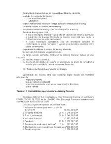 Aspecte privind Contabilitatea Operatiilor de Leasing - Pagina 4