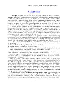 Raspunderea pentru Daunele Ecologice in Dreptul Comunitar - Pagina 1