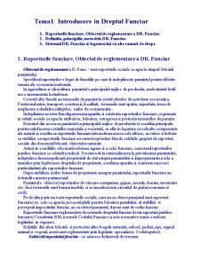 Dreptul Funciar in Republica Moldova - Pagina 1