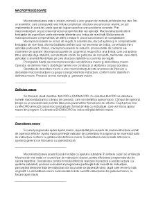 Macroprocesoare - Pagina 1