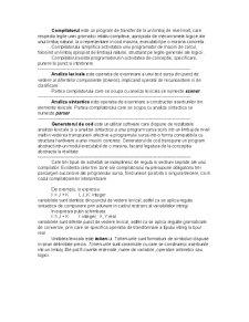 Compilatoare - Pagina 2