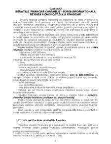 Situatii Financiar-Contabile - Pagina 1