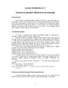 Laborator Limbaj de Asamblare - Pagina 1