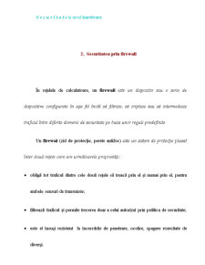 Securitate a Retelei de Calculatoare - Pagina 3
