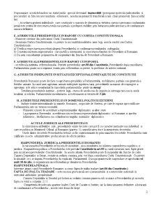 Atributiile Presedintelui Romaniei - Pagina 2