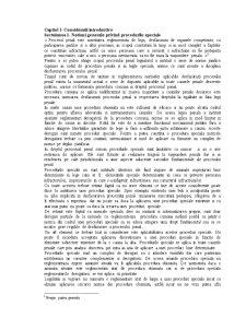 Proceduri Speciale - Pagina 1