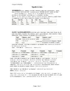Baze de Date MySQL Generale - Pagina 2