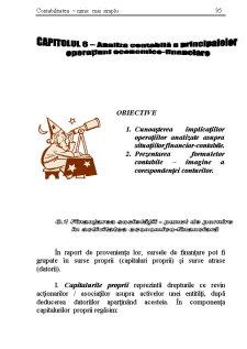 Analiza Contabila a Principalelor Operatiuni Economico - Financiare - Pagina 1