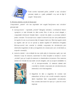 Structura si Functionarea unui Calculator - Pagina 2