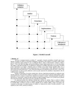Modele ale Ciclului de Viață al Sistemului Informatic - Pagina 2