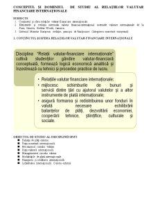 Sistemul Valutar international - Pagina 1