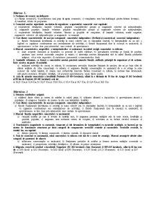 Bilete de Examen - Pagina 1