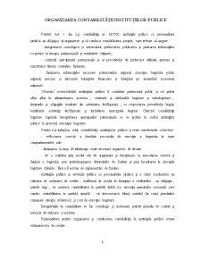 Organizarea și Conducerea Contabilității Instituțiilor Publice - Pagina 3