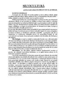 Silvicultură - Pagina 1