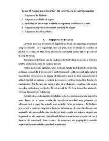 Asigurarea Riscurilor de Antreprenoriat - Pagina 1