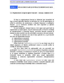 Reglementare și Supraveghere Bancară - Pagina 2