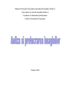 Anliza și Prelucrarea Imaginilor - Pagina 1