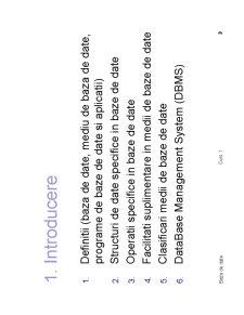 Teoria Bazelor de Date - Pagina 3