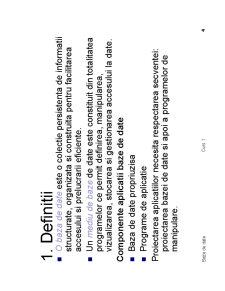 Teoria Bazelor de Date - Pagina 4