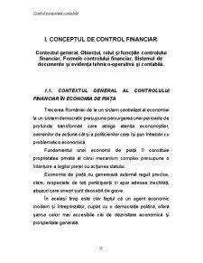 Control și Expertiză Contabilă - Pagina 1