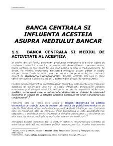 Economie Monetara - Pagina 1