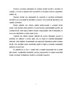 Analiza Juridico-Penala a Evaziunii Fiscale in Republica Moldova - Pagina 3