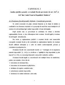 Analiza Juridico-Penala a Evaziunii Fiscale in Republica Moldova - Pagina 4