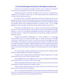 Tehnologii de Procesare a Informației Economice în Sisteme Informatice - Pagina 3