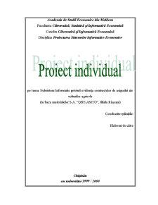 Subsistem Informatic Privind Evidența Contractelor de Asigurări ale Culturilor Agricole - Pagina 1