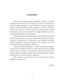 Analiza Imaginii Organizațiilor - Pagina 3