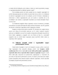 Analiza Imaginii Organizațiilor - Pagina 5