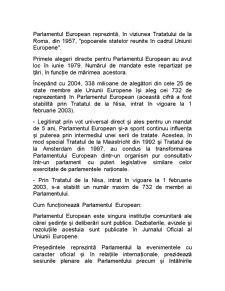 Parlamentul European - Pagina 1