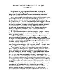 Calculația Costurilor - Pagina 3
