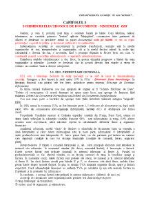 Schimburi Electronice de Documente - Sistemele EDI - Pagina 1